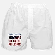 End of An Error 2009 Boxer Shorts