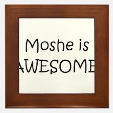 Moshe Framed Tile