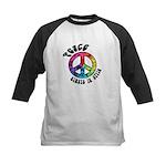 Peace Always in Style Kids Baseball Jersey