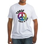 Peace Always in Style Fitted T-Shirt