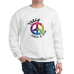 Peace Always in Style Sweatshirt