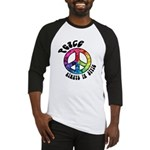 Peace Always in Style Baseball Jersey