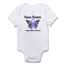 General Cancer Awareness Infant Bodysuit