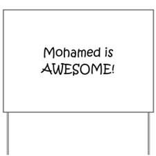 Mohammed Yard Sign