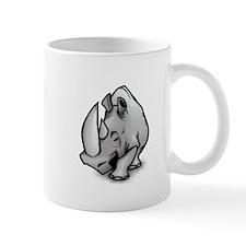 Big Rhinoceros Small Mug