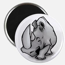 Big Rhinoceros Magnet