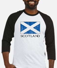 Scotland Flag Baseball Jersey