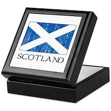 Scotland Flag Keepsake Box