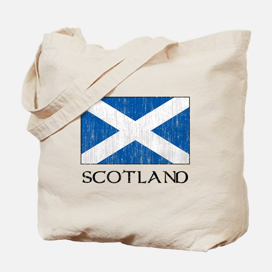Scotland Flag Tote Bag