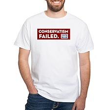 Conservatism Failed, Vote Blue Shirt