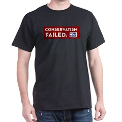 Conservatism Failed, Vote Blue T-Shirt