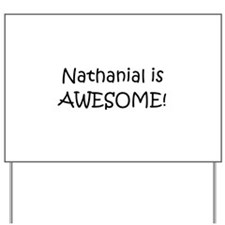 Cool Nathanial Yard Sign