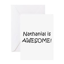 Cool Nathanial Greeting Card