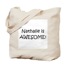 Funny Nathalie Tote Bag