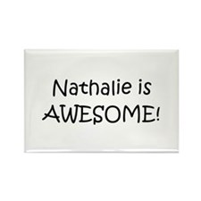 Cool Nathaly Rectangle Magnet (10 pack)