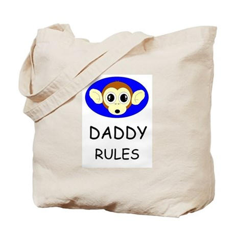 DADDY RULES Tote Bag