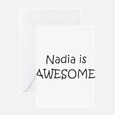 Cute Nadia Greeting Card