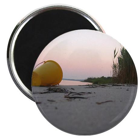 beach bucket Magnet