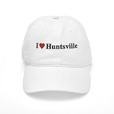 I Love Huntsville Baseball Cap