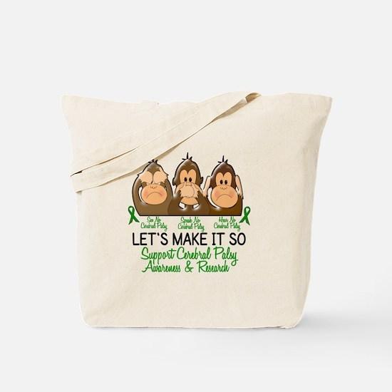 See Speak Hear No Cerebral Palsy 2 Tote Bag