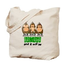 See Speak Hear No Cerebral Palsy 3 Tote Bag