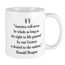 Reagan on Right to Life Mug