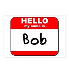 Hello my name is Bob Postcards (Package of 8)