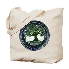 Tree of Life Mandala Tote Bag