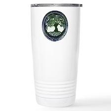 Tree of Life Mandala Travel Mug