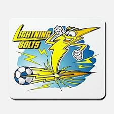 Lightning Bolts Soccer @ eShi Mousepad