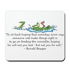 Reagan Crocodile Mousepad