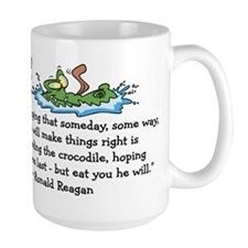 Reagan Crocodile Mug