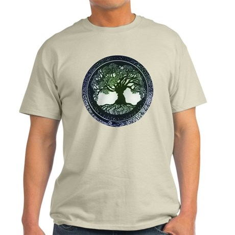 Tree of Life Mandala Light T-Shirt