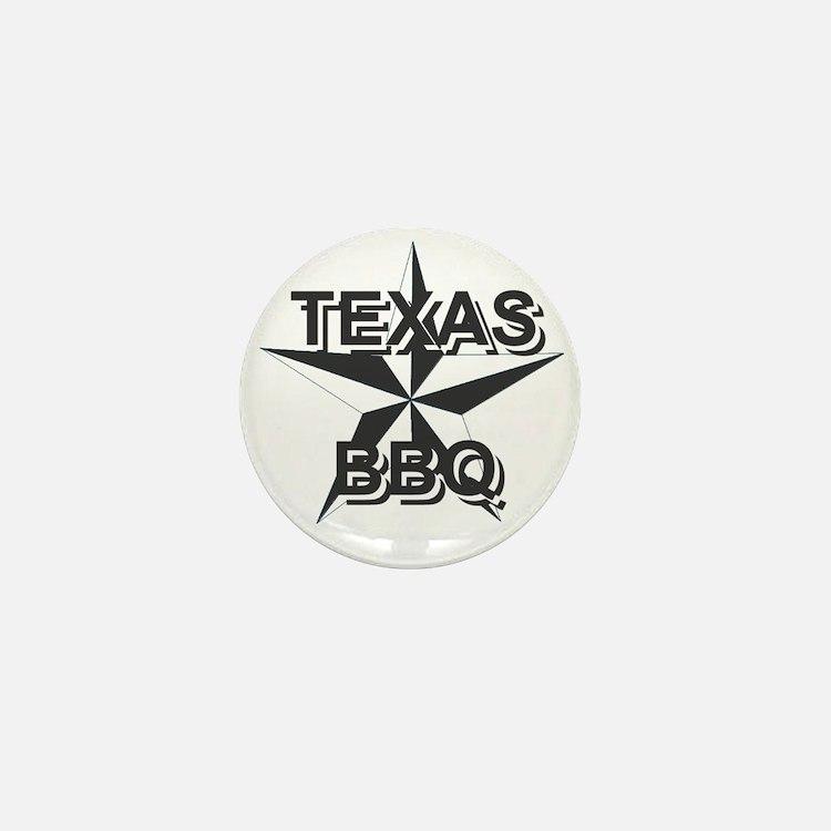 Texas BBQ Mini Button