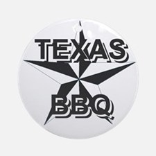 Texas BBQ Ornament (Round)