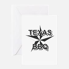 Texas BBQ Greeting Card