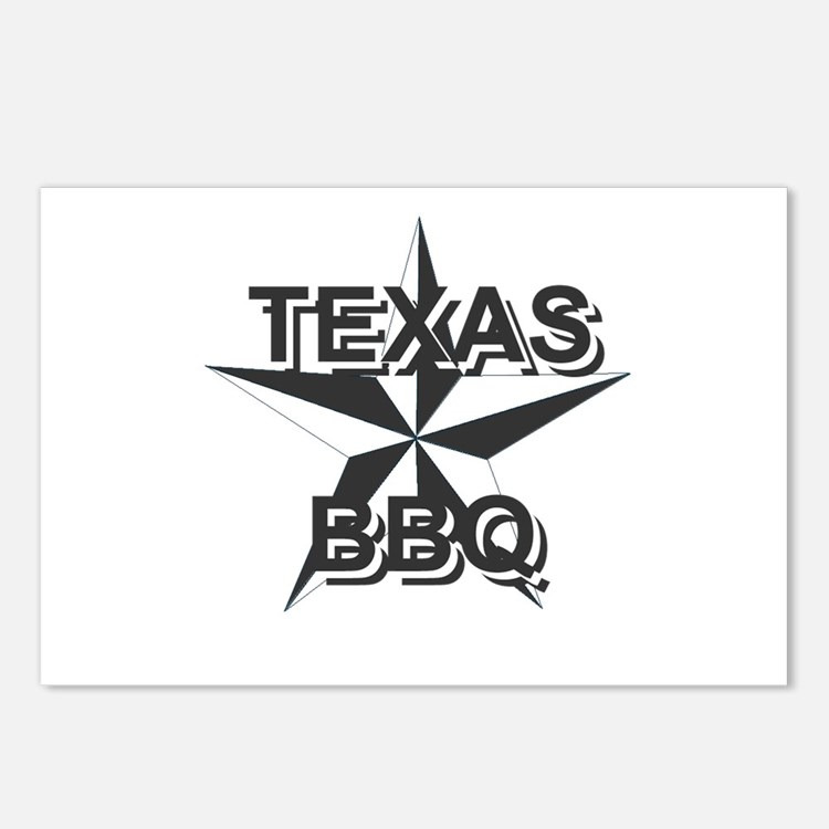 Texas BBQ Postcards (Package of 8)
