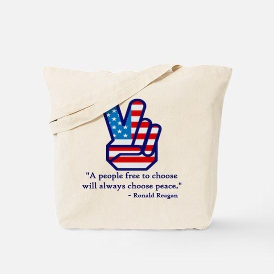 PEACE Tote Bag