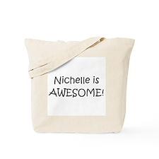 Cute I love nichelle Tote Bag