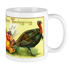 Thanksgiving Cornucopia Mug
