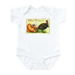 Thanksgiving Cornucopia Infant Bodysuit
