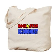 """Rock Star Economist"" Tote Bag"