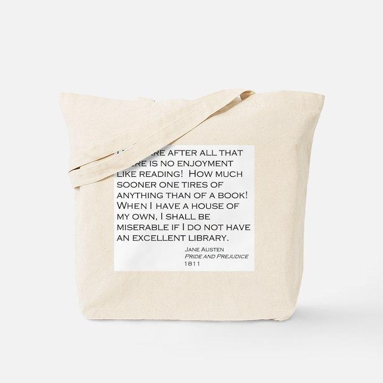 Cute Literature quotes Tote Bag