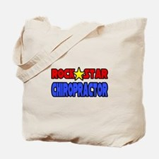 """Rock Star Chiropractor"" Tote Bag"