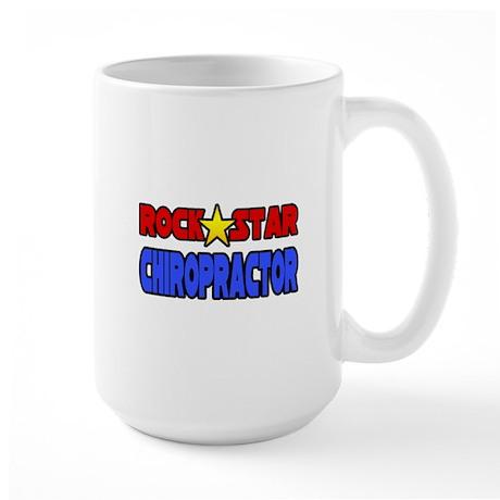 """""""Rock Star Chiropractor"""" Large Mug"""