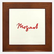 MOZART! Framed Tile