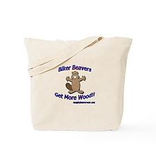 Biker Beavers Tote Bag