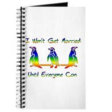 Same Sex Marriage Penguins Journal