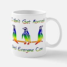 Same Sex Marriage Penguins Mug