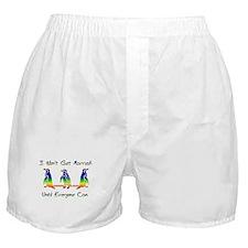 Same Sex Marriage Penguins Boxer Shorts